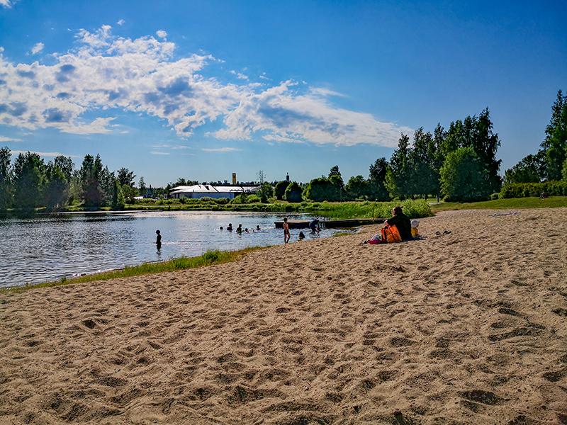 Lamminjärven uimaranta