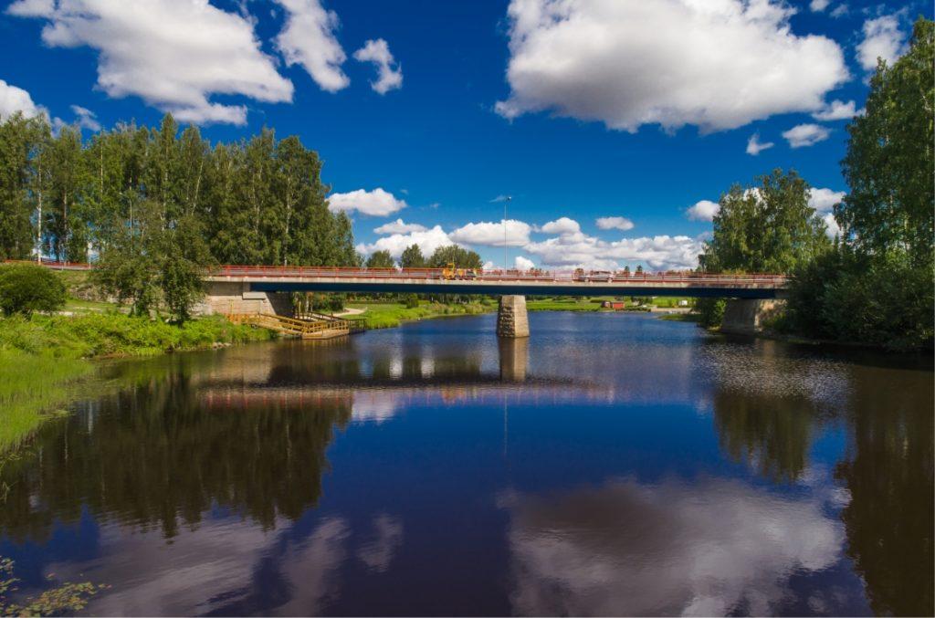 Kuva Kurikan keskustan sillasta